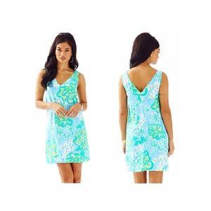 Lilly Pulitzer Lagoon Green Calissa Dress (NEW)